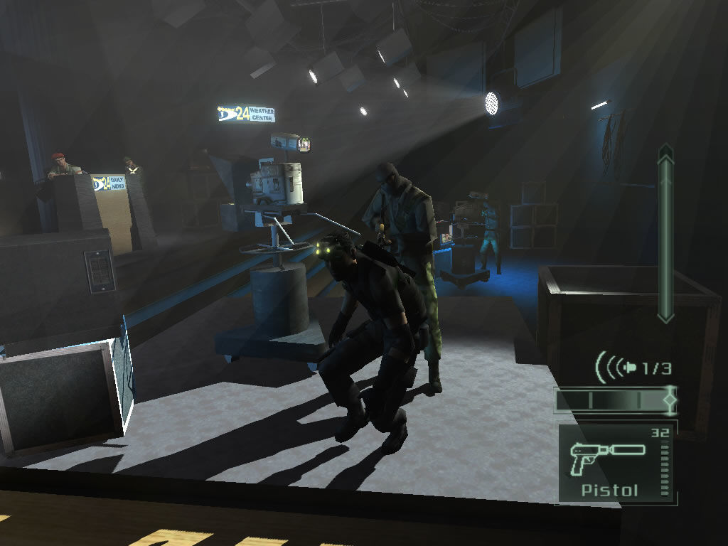 Скриншот Splinter Cell: Pandora Tomorrow