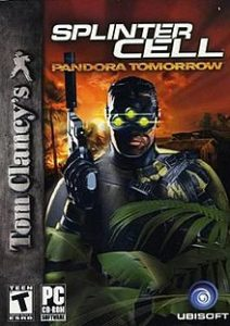 Бокс-арт Splinter Cell: Pandora Tomorrow
