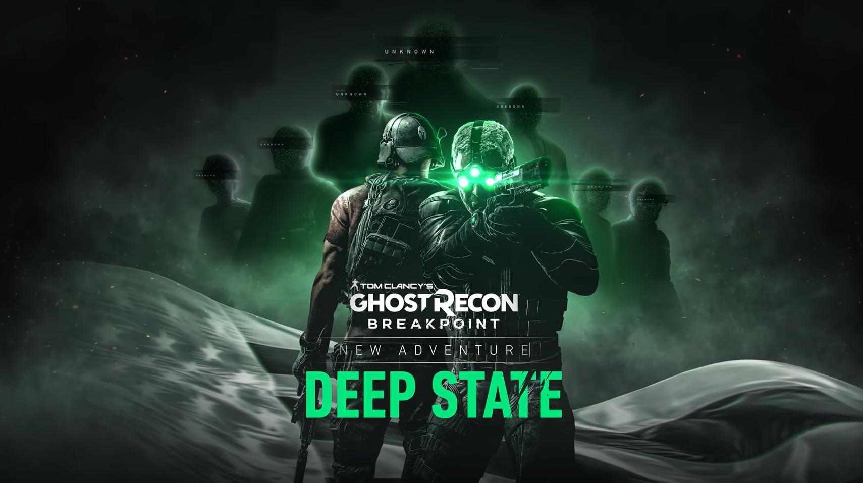 Трейлер обновления Ghost Recon: Breakpoint с участием Сэма Фишера